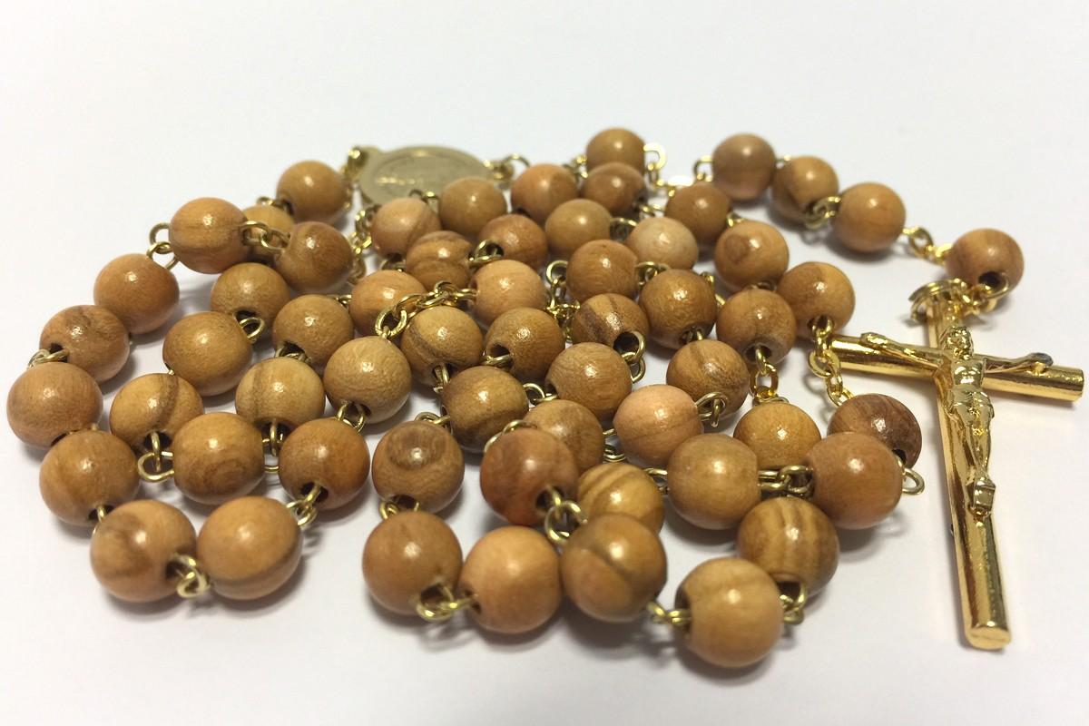 Wooden rosaries