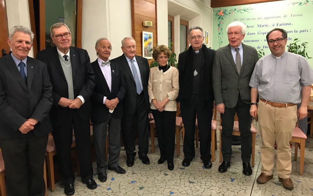 Départ de Monsieur Lucien Sentenac président de l'Association de 2009-2017